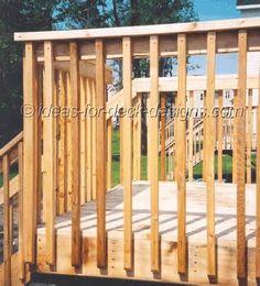 1000 Images About Decks On Pinterest Deck Railings Deck Railing Design An