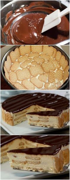 Jewellery For Lady - Portuguese Desserts, Portuguese Recipes, Sweet Recipes, Cake Recipes, Homemade Sour Cream, Good Food, Yummy Food, Banoffee, Sweet Pie