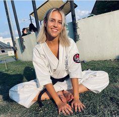 Female Martial Artists, Karate, Art Girl, Martial Arts, Rain Jacket, Windbreaker, Coat, Girls, Jackets