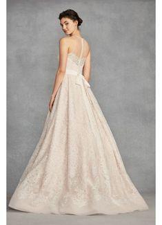 7305af09ab7b White by Vera Wang Macrame Lace Wedding Dress VW351400 White By Vera Wang,  Dream Wedding