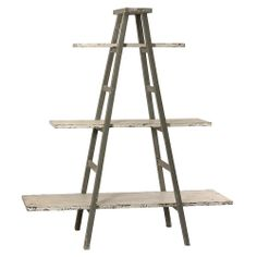 Ladder Shelving Unit - French Style - so simple, yet so adaptable, coastal chic, rustic, any style