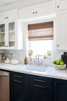 Uplifting Kitchen Remodeling Choosing Your New Kitchen Cabinets Ideas. Delightful Kitchen Remodeling Choosing Your New Kitchen Cabinets Ideas. Navy Blue Kitchen Cabinets, Glass Kitchen Cabinets, Kitchen Fixtures, Kitchen Tiles, New Kitchen, Kitchen Decor, White Cabinets, Shaker Cabinets, Kitchen White