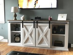 Ana White | Grandy Sliding Door Console - DIY Projects
