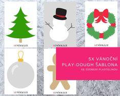 Zdobím, zdobíš, zdobíme! Vlastně to je taková typická vánoční činnost. Zdobíme si obydlí, zdobíme stromečky, věnečky, perníčky nebo sebe :) A my máme dnes ke zdobení vánoční šablony. Čím je budeme zdobit? To se dočtete v novém příspěvku na blogu. Klikni, stáhni, vytiskni a nezapomeň se pochlubit vašimi výtvory! #zima #vanoce #tvoreni #aktivity #zdobeni #aktivitysdětmi #preschool #printables #free #christmas #kuncicka.cz Play Dough, Christmas Ornaments, Holiday Decor, Free, Home Decor, Decoration Home, Room Decor, Christmas Jewelry, Christmas Baubles