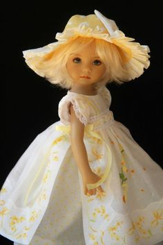 "Little Miss Sunshine ~ for Effner 13"" Little Darling ~ by Glorias Garden"