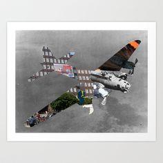 Bomber Art Print by Marko Köppe - $19.99