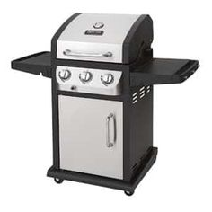 Dyna-Glo Stainless Steel and Black Liquid Propane Gas Grill at Lowe's. The Dyna-Glo smart space living gas grill is designed to fit on smaller decks and patios, providing the style, efficiency and high performance Propane Gas Grill, Gas Bbq, Diy Grill, Barbecue Grill, Char Grill, Barbecue Chicken, Barbacoa, 3 Burner Gas Grill, Gas Grill Reviews