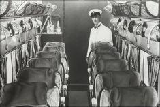 Before the Stewardess, the Steward: When Flight Attendants were Men (click thru . Before the Stewardess, the Steward: When Flight Attendants were Men (click thru for analysis) Airline Travel, Air Travel, Travel Images, Travel Pictures, Croydon Airport, Aircraft Interiors, British Airways, Flight Attendant, Vintage Travel