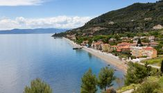 The coastal village of Ilia on the island of Evia the second largest island in Greece Places In Greece, Greece Islands, Tourist Information, Natural Scenery, Greece Travel, Nice View, Traveling By Yourself, Coastal, Water