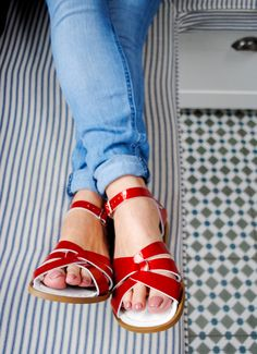 The best flat sandals - and looking after your feet as you get older - That's Not My Age