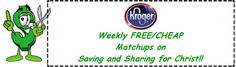 Kroger Coupon Matchups 6/10 - 6/16!! (They are having a mini mega sale - Buy 4, Save $4 instantly). I will have the updated list after going through store on Monday, but here is what we have so far:)