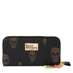 My new PAUL'S BOUTIQUE Lizzie skull-print purse #skull #purse