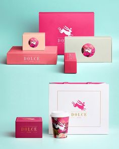 """Polubienia: 732, komentarze: 7 – The Dieline (@thedieline) na Instagramie: """"Welcome to a dreamland of pastries and sweets! #packaging #design #sweets #sugar #bakeries #pretty"""""""