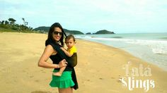 A gente ta na praia e o Tatá sling Redinha tá com a gente ;-) Francisco está adorando conhecer a areia o mar e toda energia boa que a praia traz