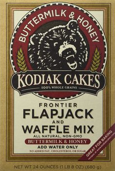 Baker Mills Kodiak Cakes Flapjack and Waffle Mix - Buttermilk and Honey 24 oz Box *** Check out the image by visiting the link.