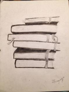 Bücherstapel gezeichnet  Bildergebnis für bücher gezeichnet   Brainstorm   Pinterest ...
