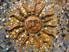 Sun Mosaic - Doylestown, PA by fundraz34, via Flickr
