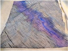 Art Threads: Silk Painting - Class 6- shibori painting