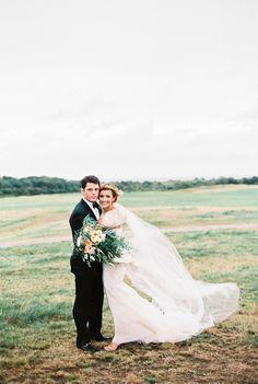 Photography: Sally Pinera - sallypinera.com Wedding Dress: Vera Wang - www.verawang.com/ Floral Design: Stoneblossom  - www.stoneblossom.com/   Read More on SMP: http://www.stylemepretty.com/2016/01/06/black-tie-garden-party-wedding/