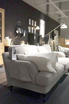 A Sneak Peek at IKEA's New 2015 Collections :: can I please have this couch in our apartment?!!!