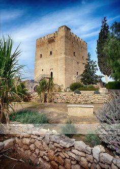 Kolossi Castle - Medieval Limassol, Cyprus