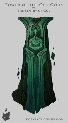 Tower of the Old Gods or The Sentry of Gol by koryface - Kory Hubbell - CGHUB via PinCG.com