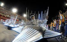 Salgueiro é a segunda escola a desfilar pelo Grupo Especial do carnaval do Rio
