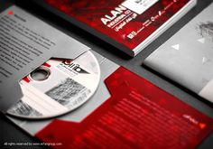 نمونه طراحی پاکت سی دی  Identity design CD design #CD_design #graphic_design #packaging