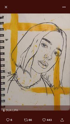 Abstract Portrait, Portrait Art, Art Sketches, Art Drawings, Kawaii, Art Sketchbook, Doodle Art, Collage Art, Creative Art