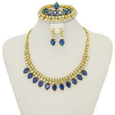 Find More Jewelry Sets Information about 2016 New Fashion Charm Dubai African Women 18K Gold Plated Blue Crystal Jewelry Suit Bridal Jewelry,High Quality jewelry string,China jewelry pro Suppliers, Cheap jewelry headpins from AE Jewelry&sport jerseys on Aliexpress.com