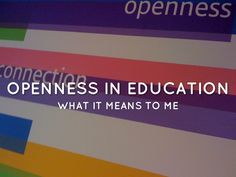 Openness In Education - A Haiku Deck by Natalie Lafferty Free Presentation Software, Massive Open Online Courses, Openness, Educational Technology, Haiku, Case Study, Deck, Classroom, Social Media