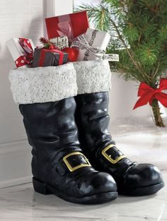 If you want to give traditional looks to your home decor but with a unique taste, you can opt for Santa boots decoration. Small or over sized boots and filled with decorative items preferred by you can add festive accents to your home. At the same time, they assure your kids that Santa will...
