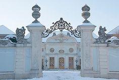 Merisi's Vienna for Beginners: Schloss Halbturn, Burgenland Vienna, Austria, Taj Mahal, Places To Go, Wanderlust, Castles, Travel, Beautiful, Princess