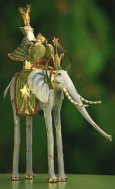 Krinkles by Patience Brewster Magi on Elephant (Pre-Order Item. October Delivery)