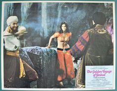 The Golden Voyage of Sinbad Movie   Golden Voyage Of Sinbad (The) Single USA Lobby Card #6