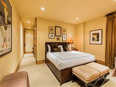 Another guest room in a quiet section of the home