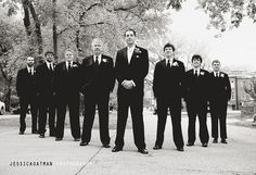 cool pic of the men - the confidence stance