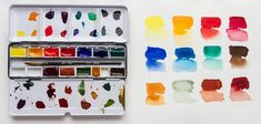 Watercolour Box Colours