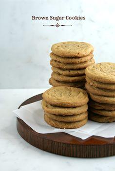 Authentic Suburban Gourmet: Brown Sugar Cookies | Secret Recipe Club