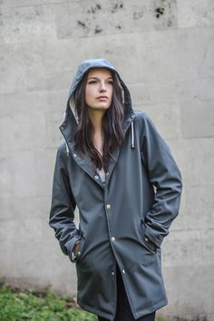 Grey | The Wise Windbreaker, Raincoat, Grey, Rain Jackets, Collection, Black, Fashion, Rain Jacket, Gray