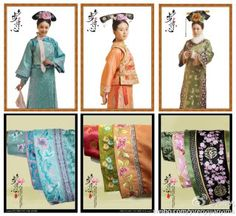 Chinese historical drama set in the Qing Dynasty, Bu Bu Jing Xin costumes were amazing works of art.