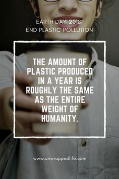 earth day 2018 scary plastic statistic: The amount of plastic produced in a year is roughly the same as the entire weight of humanity. Environment Quotes, Help The Environment, Pollution Information, All About Earth, Recycling Facts, Part Of Hand, Plastic Pollution, Earth Day, Planet Earth
