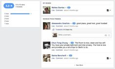 Facebook Revamps Reviews for Places' Pages Facebook appears to have redesigned its presentation of reviewsof pagesfor local places, along with their accompanying scores under the five-star ratings system. (more…)New Career Opportunities Daily: The best jobs in media.   www.newsocialcloud.com