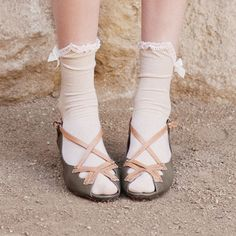 <3 These socks with these shoes!