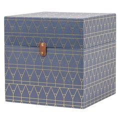 Box DECO blå | Inredning online | Lagerhaus.se