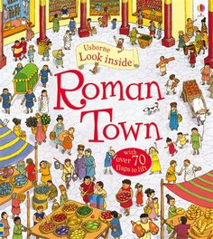 The 93 best favorite books for young readers images on pinterest look inside roman town author conrad mason illustrator alfredo belli published by usborne we recently spent a few fun fille fandeluxe Image collections