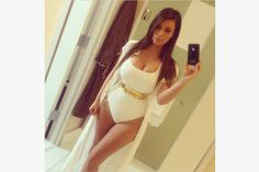 Kim Kardashian Photos - Kim Kardashian Best Instagrams - Elle....bathing suit <3