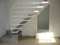 Balustrade Design, Stair Railing Design, Stair Handrail, Staircase Railings, Staircase Design Modern, Interior Staircase, Arch Interior, Modern Stairs, Exterior Wall Cladding