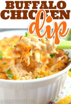 BEST DIP EVER! Buffalo Chicken Dip is easy to make and a total crowd pleaser. Make it ahead and pop in the oven on game day! BEST DIP EVER! Buffalo Chicken Dip is easy to make and a total crowd pleaser. Make it ahead and pop in the oven on game day! Casserole Recipes, Crockpot Recipes, Soup Recipes, Vegetarian Recipes, Snack Recipes, Dinner Recipes, Cooking Recipes, Healthy Recipes, Easy Recipes