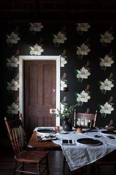 "・・・ ""a flashback of something beautiful i did with for Beautiful Wall, Something Beautiful, Beautiful Homes, Design Crafts, Design Art, Interior Design, Craft Victoria, Brown Furniture, Crafts To Make"